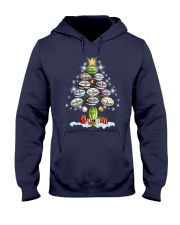 Hair Tree Noel Rugby  Hooded Sweatshirt thumbnail