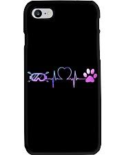 Skiing Dog Heartbeat Phone Case thumbnail