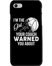 I'm The Girl Your Coach Warned You About  Phone Case thumbnail