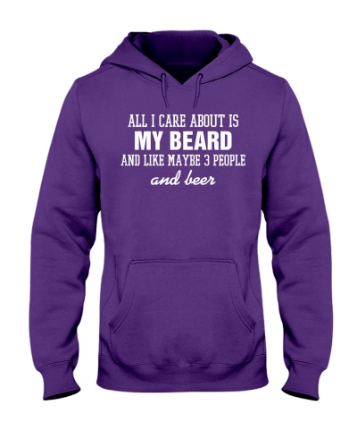 All I care about is my beard