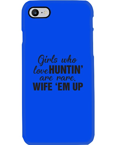 Girls who love hunting
