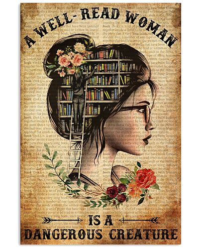 Books Just A GirL Who Love Books Poster