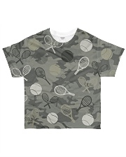 Tennis Camouflage All-over T-Shirt front