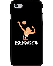 Mom And Daughter Volleyball Players For Life Phone Case thumbnail