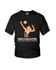 Mom And Daughter Volleyball Players For Life Youth T-Shirt thumbnail