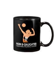 Mom And Daughter Volleyball Players For Life Mug thumbnail