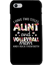 I Have Two Tittles Volleyball Phone Case thumbnail