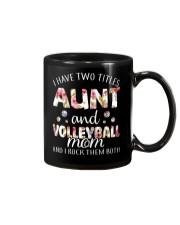 I Have Two Tittles Volleyball Mug thumbnail