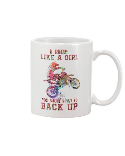 Motocross I Ride Like A Girl