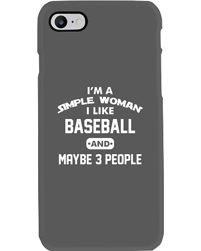 Baseball - I'm A Simple Woman