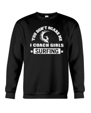 Surfing I Coach Girls Crewneck Sweatshirt thumbnail
