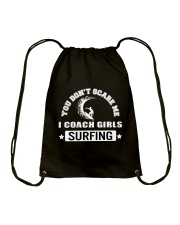 Surfing I Coach Girls Drawstring Bag thumbnail