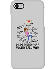 Inside The Mind Of A Volleyball Mom Phone Case thumbnail