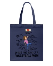 Inside The Mind Of A Volleyball Mom Tote Bag thumbnail