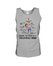 Inside The Mind Of A Volleyball Mom Unisex Tank thumbnail