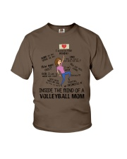 Inside The Mind Of A Volleyball Mom Youth T-Shirt thumbnail