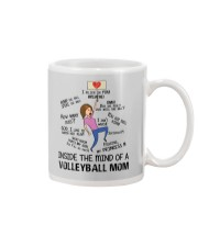 Inside The Mind Of A Volleyball Mom Mug thumbnail