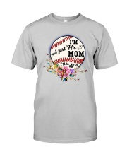 Baseball Mom Classic T-Shirt front