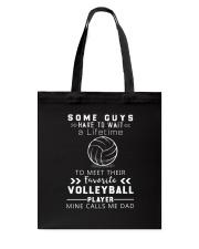 Volleyball Dad Tote Bag thumbnail