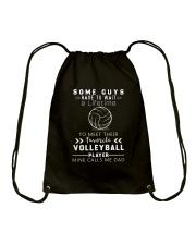 Volleyball Dad Drawstring Bag thumbnail