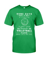 Volleyball Dad Classic T-Shirt front