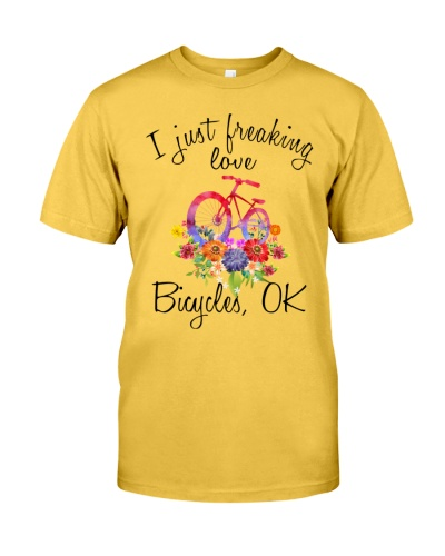 I Just Freaking Love Bicycle