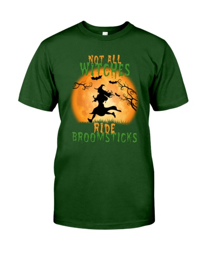 Running Not All Witches Ride Broomsticks