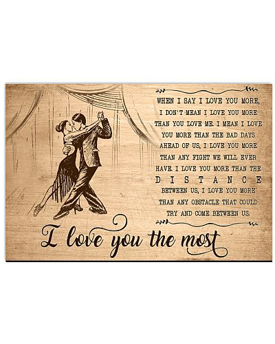 Dancing I Love You The Most
