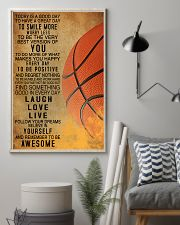 Basketball Today Is A Good Day 11x17 Poster lifestyle-poster-1