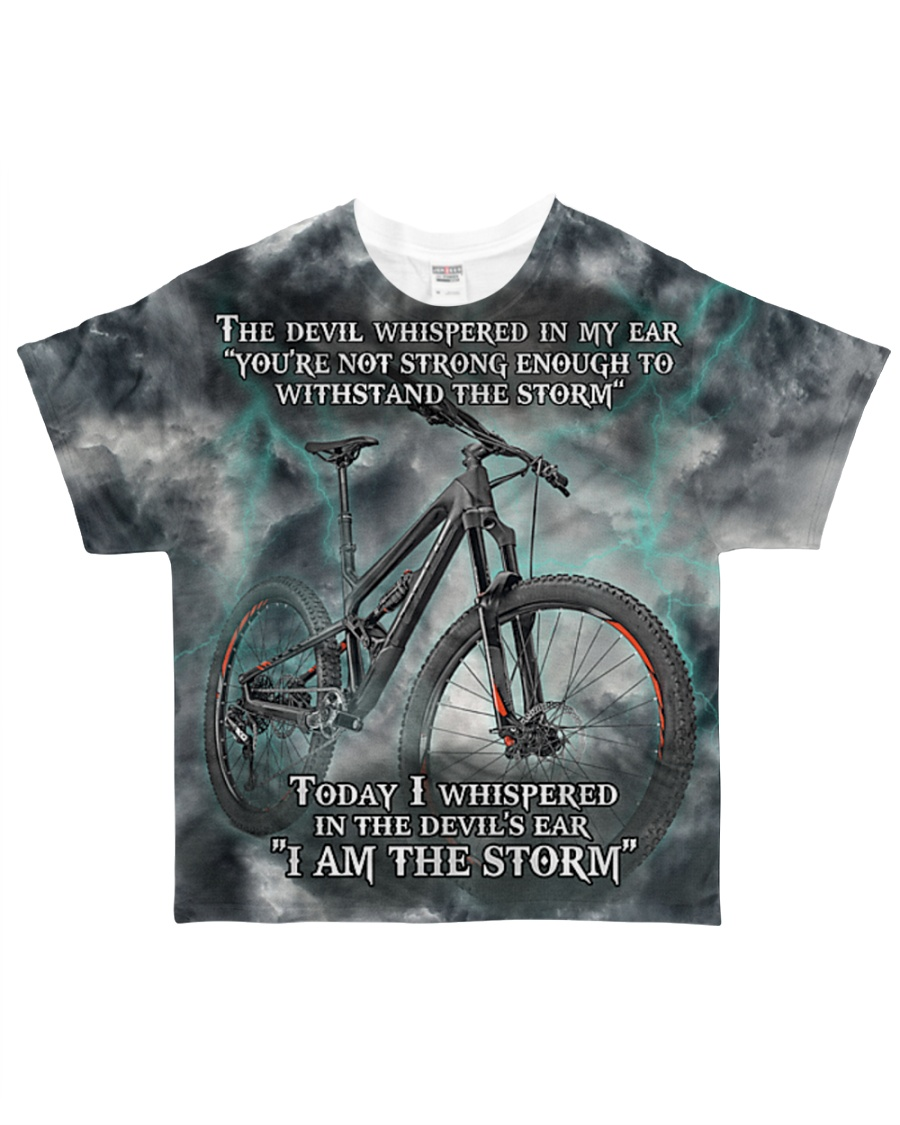 Cycle I Am The Storm All-over T-Shirt showcase