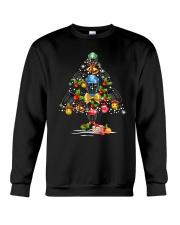 Hockey Christmas Flamingo Crewneck Sweatshirt thumbnail