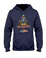 Hockey Christmas Flamingo Hooded Sweatshirt thumbnail