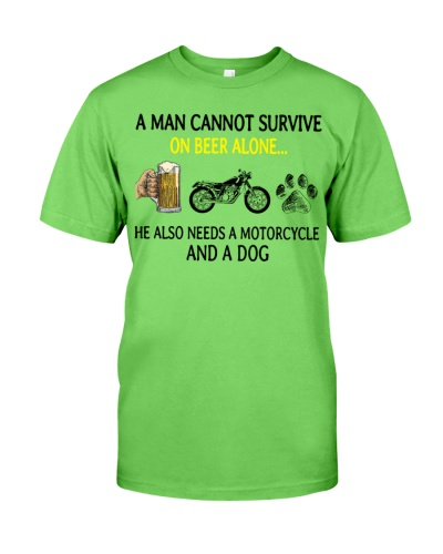 Motorcycle A Man Cannot Survive