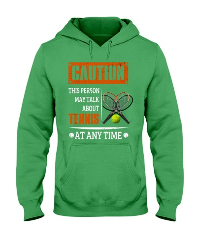this person may talk about tennis