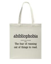 Book Noun Tote Bag thumbnail