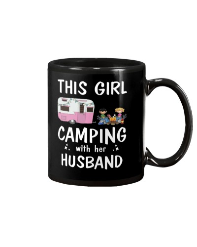 This Girl Camping With Her Husband