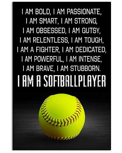 I'm A Softball Player