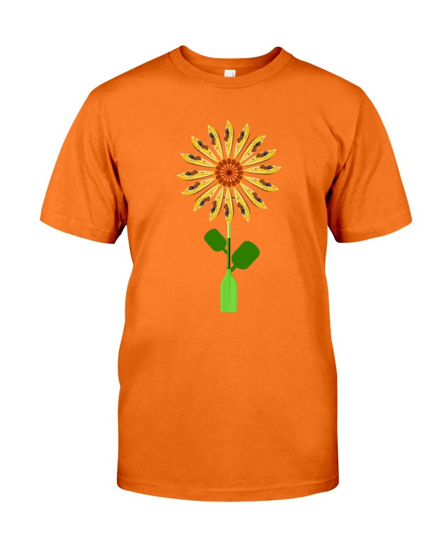 Canoeing Sunflower Classic T-Shirt