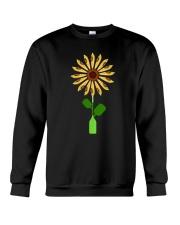 Canoeing Sunflower Crewneck Sweatshirt thumbnail
