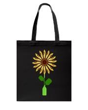 Canoeing Sunflower Tote Bag thumbnail