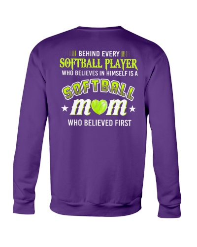 Behind Every Softball Player