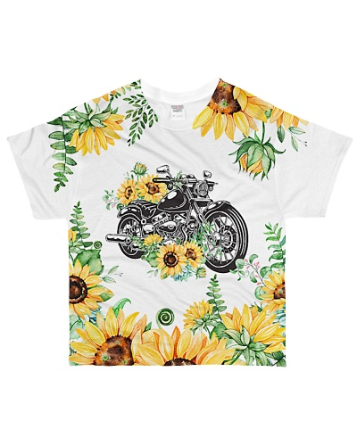 Motorcycle 3D Sunflower