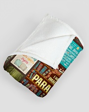 "Books I Have Always Imagined Large Fleece Blanket - 60"" x 80"" aos-coral-fleece-blanket-60x80-lifestyle-front-07"
