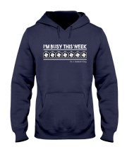 Baseball I'm Busy This Week Hooded Sweatshirt thumbnail