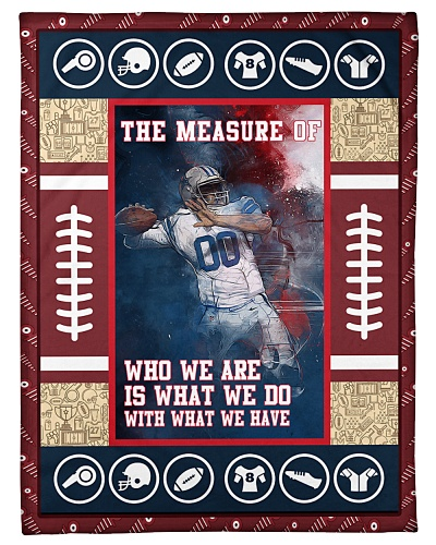 Football The Measure Of Who We Are Graphic Design