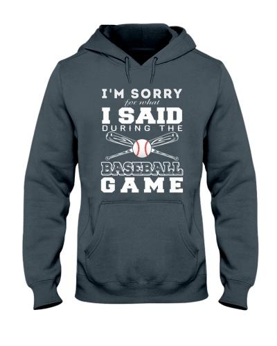 Baseball I'm Sorry