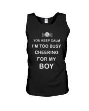 Volleyball You Keep Calm Unisex Tank thumbnail