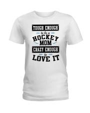 Hockey Mom Ladies T-Shirt thumbnail