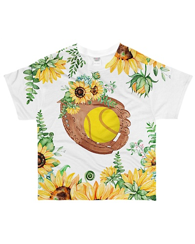Softball 3D Sunflower