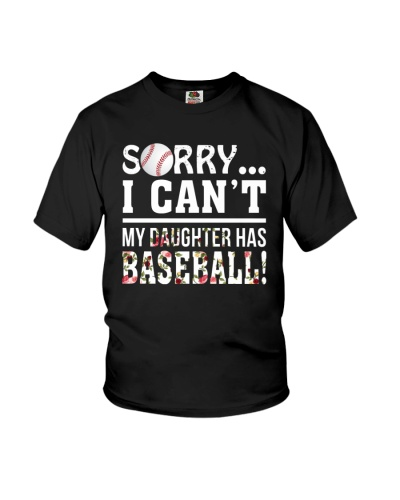 Baseball Sorry I Can't